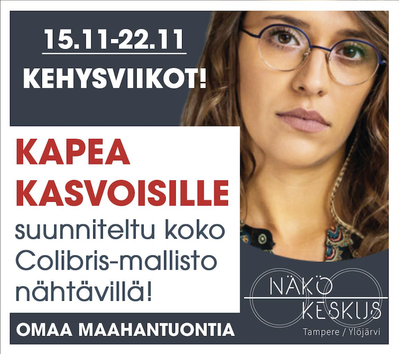 Kehysviikot 15-22.11 Tampereen Näkökeskus