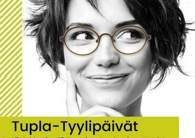 TUPLA-Tyylipäivät 15 -16.04 Tampereen Näkökeskuksessa