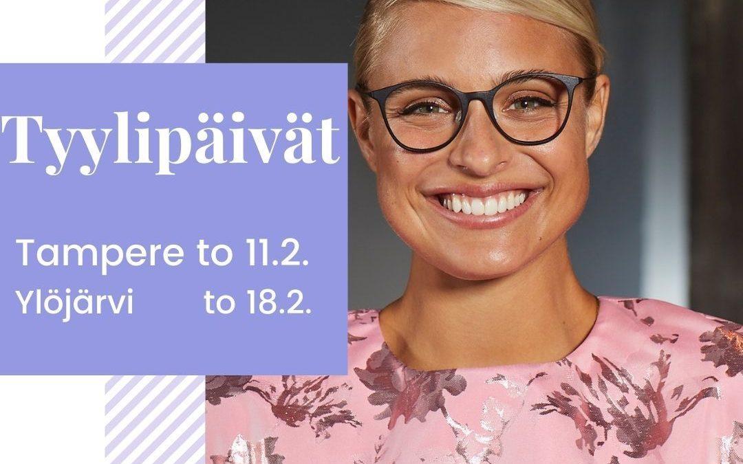 Tyylipäivä Tampereella torstaina 11.2 KLO 12 – 18