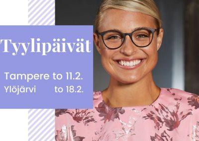 Tyylipäivä Ylöjärvellä torstaina 18.2 klo 12-18